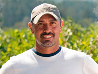 Husic Vineyards' Jesus Rios